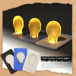LED Pocket Lights Card