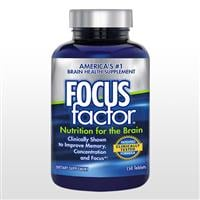 フォーカスファクター(Focus factor nutrition for the Brain)